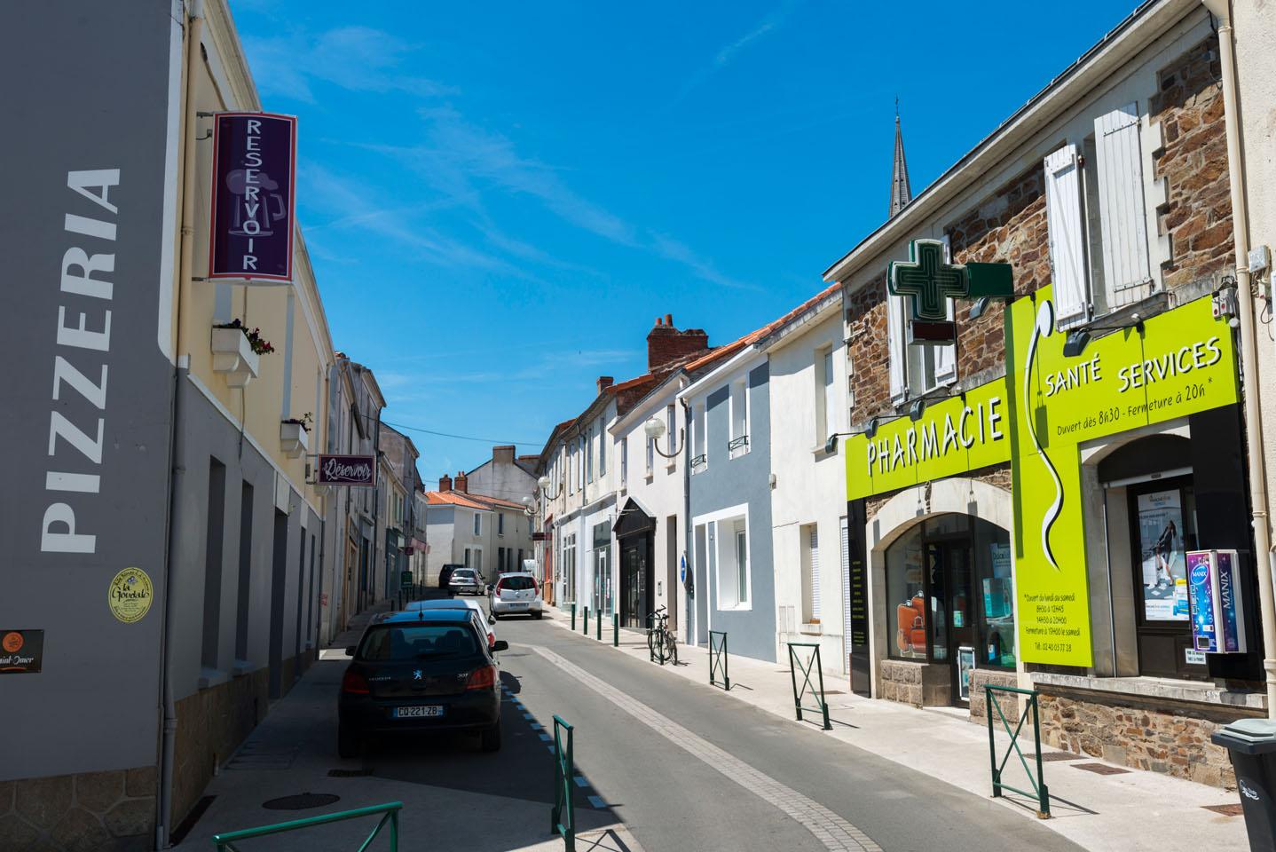 urbain, centre-ville, centre-bourg Le Loroux-Bottereau